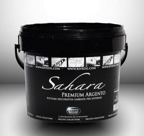 Decorazione Sahara premium Argento lt 2,5 Rivedil Made in Italy