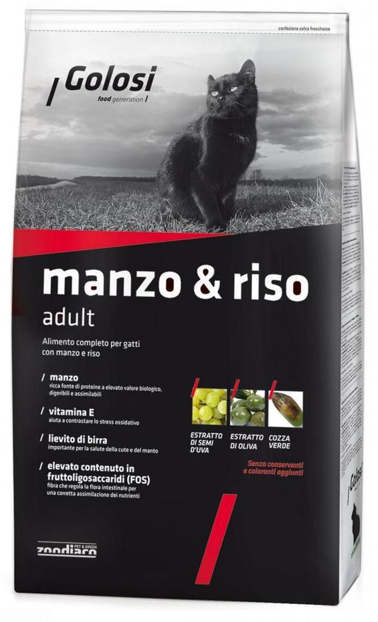 Crocchette Gatto - Manzo & Riso Golosi