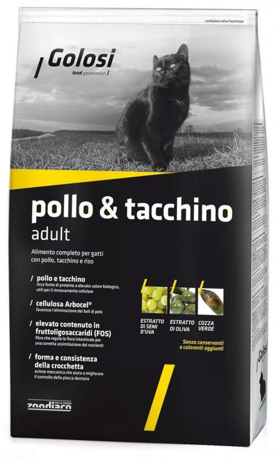 Crocchette Gatto - Pollo & Tacchino Golosi