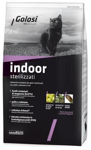 Crocchette Gatto - Indoor Golosi 1,5 Kg