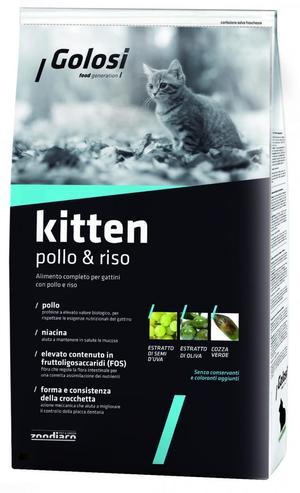 Crocchette Gatto - Kitten Golosi 1,5 Kg