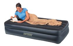 Materassino letto gonfiabile singolo cm 99 x 191 x 42 cm con pompa intex 66706