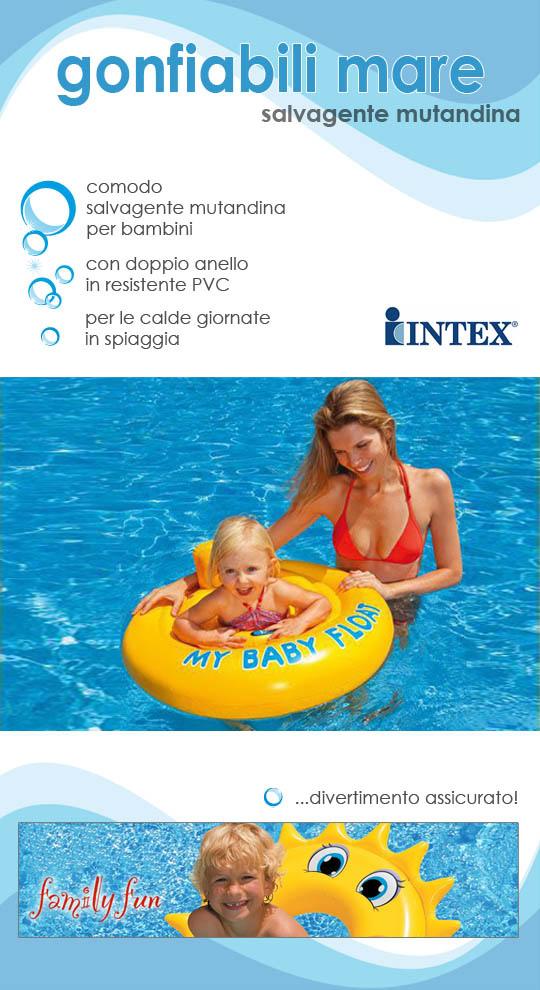 Salvagente Mutandina per Bambino intex 56585