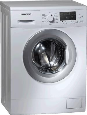 SANGIORGIO lavatrice 6kg 1200g A+++ SDG62S - SLIM