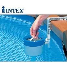 Skimmer deluxe pulizia superficie acqua piscina filtro manutenzione INTEX 28000