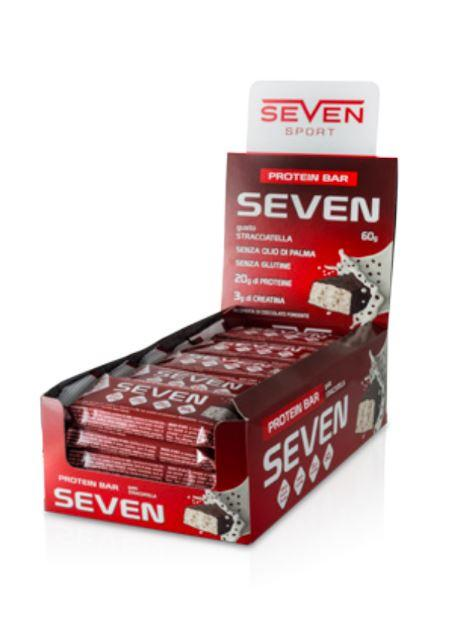 SEVEN BAR - Barrette proteiche con creatina