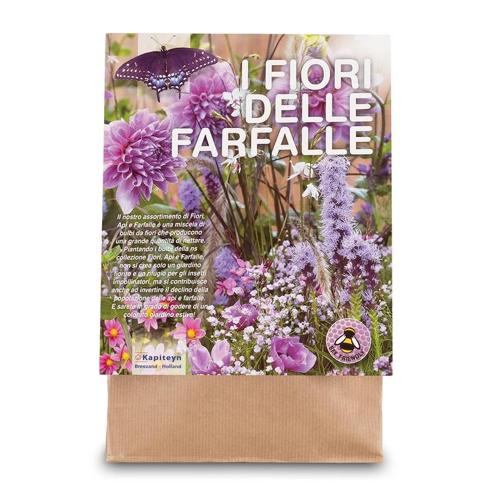 Fiori delle Farfalle Viola confezione da 30 pz