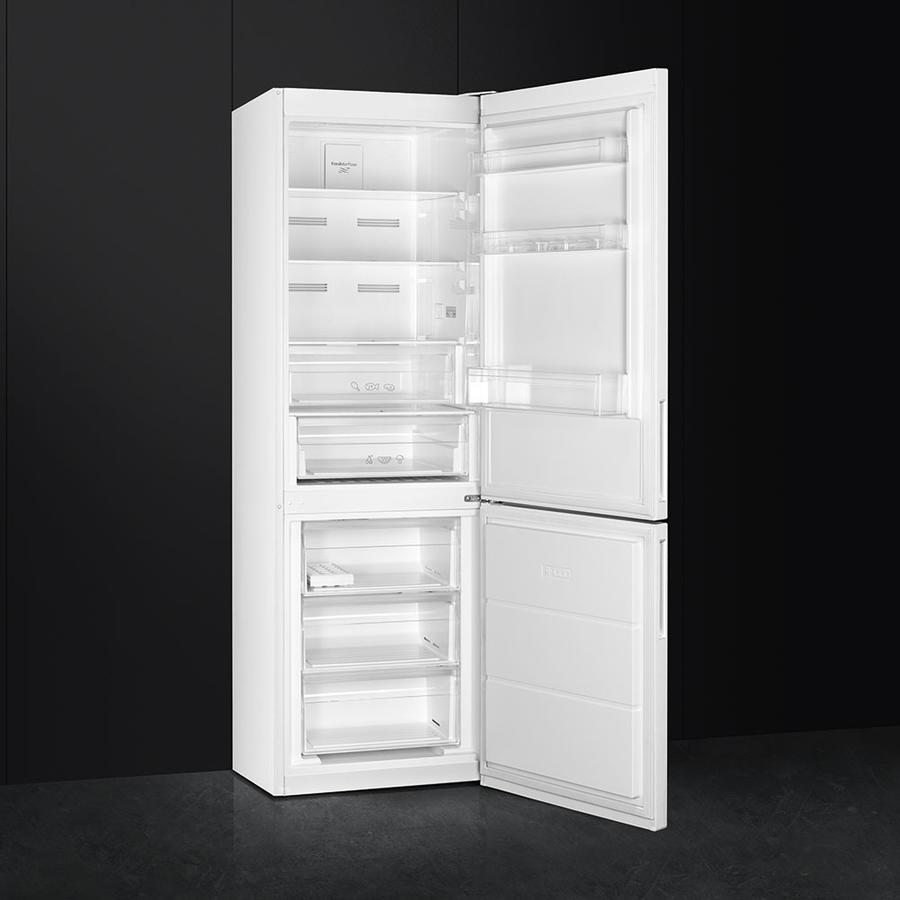 SMEG frigorifero combinato 324lt A++ BIANCO anti-impronta FC182PBN