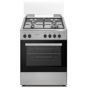 SCHAUB LORENZ cucina a gas multifunzione 60X60 INOX SS460EX
