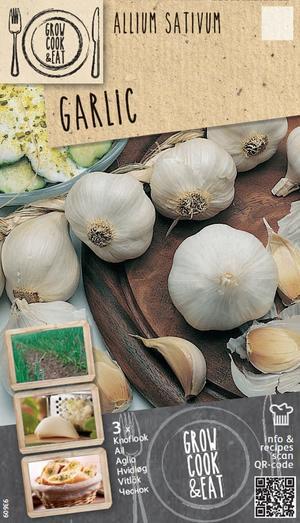 Bulbi di Aglio Bianco confezione da 3 pz
