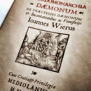 Pseudomonarchia Daemonum Joannes Weier 1583