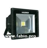 Faro proiettore LED alta luminosità 30w Maurer 95029 esterno luce bianca