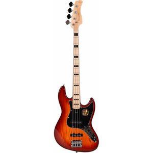 Marcus Miller - V7 VINTAGE SWAMP ASH-4 (2ND GEN) TS TOBACCO SUNBURST