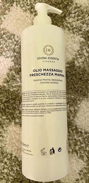 Olio dimagrante con fucus Freschezza Marina