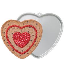 Teglia per biscotto a cuore gigante