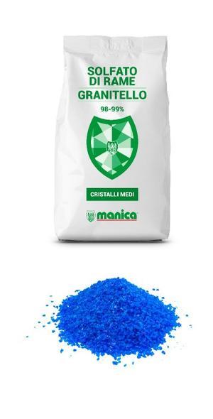 Solfato di Rame Granitello 1 Kg
