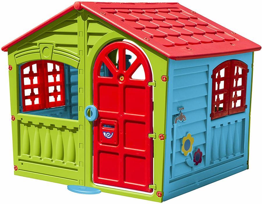 Casette in plastica per bambini casetta gioco DREAM 130 x 111 x 115 casa per interni esterni cod CP1396