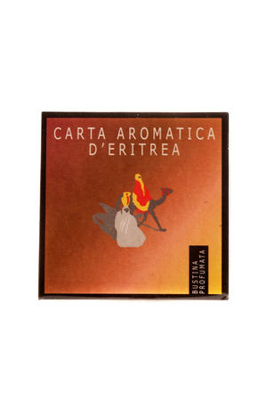 Carta Aromatica d'Eritrea - Bustine profumate per cassetti