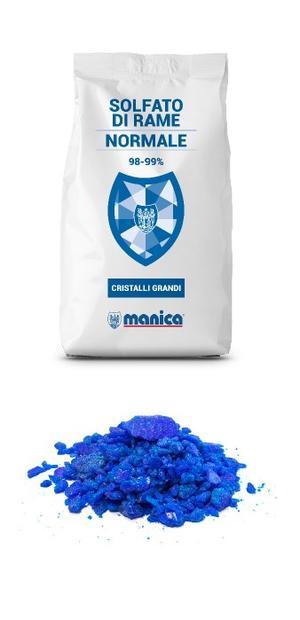 Solfato di Rame Normale Disponibile nei Formati 5-10 Kg