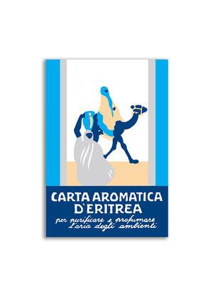 Carta Aromatica d'Eritrea - Listelli blu Essence du Touareg