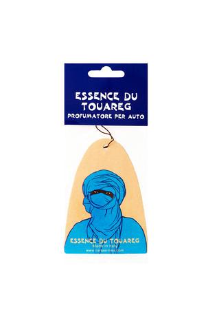 Carta Aromatica d'Eritrea - Profumatore per auto blu Essence du Touareg