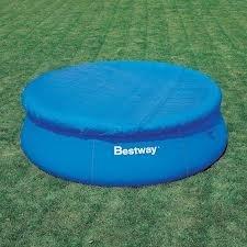 Telo top copertura piscina bestway 58032 per piscina gonfiabile cm 244