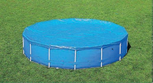 Telo di copertura per piscine con telaio cm 305 bestway 58036 - Telo copertura piscina ...