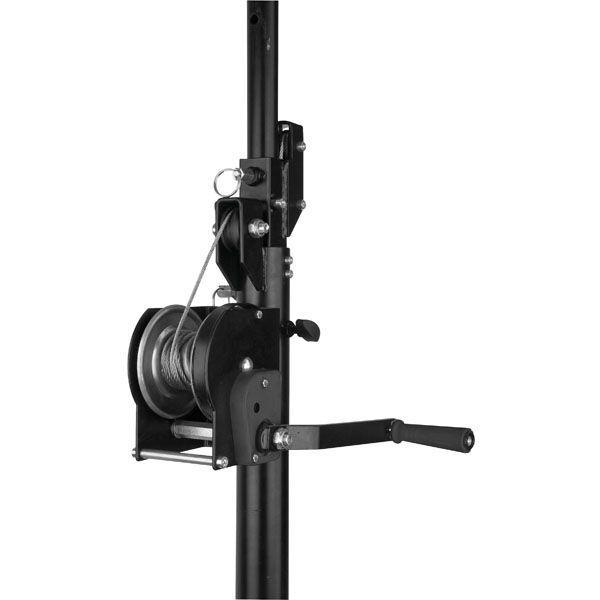 SHOWTEC - WIND-UP LIGHTSTAND 4 M SWL 40 kg