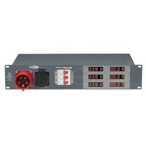 SHOWTEC - PSA-16A3S 3x MCB, uscita Schuko