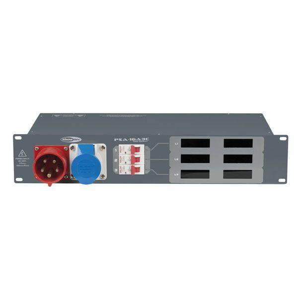 SHOWTEC - PSA-16A3C 3x MCB, uscita CEE
