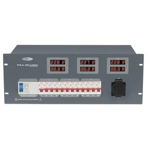 SHOWTEC - PSA-32A12M 12x MCB, Schuko + uscita Multipin