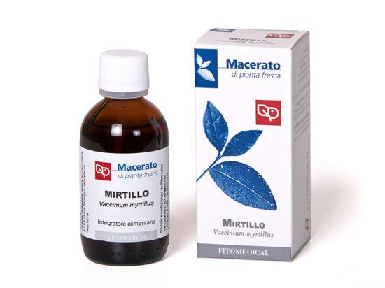 Fitomedical - Mirtillo Macerato da pianta fresca