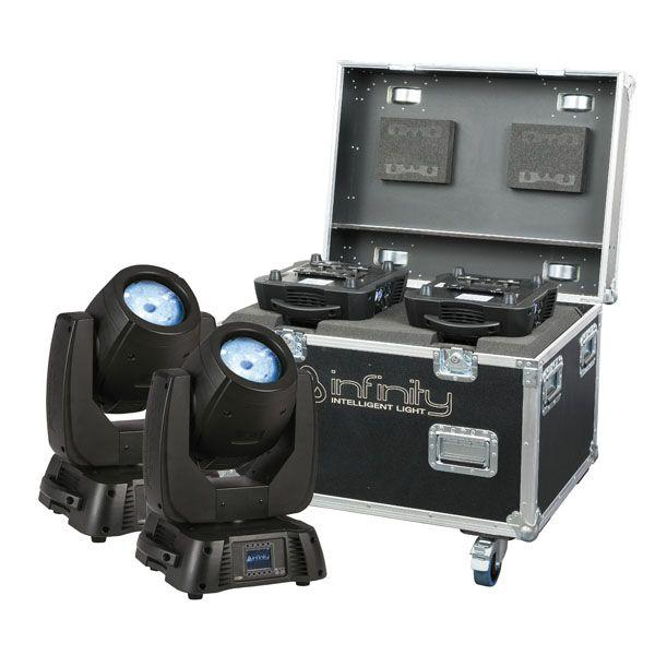 Infinity - IB-2R SET 2 pezzi con Flightcase Premium
