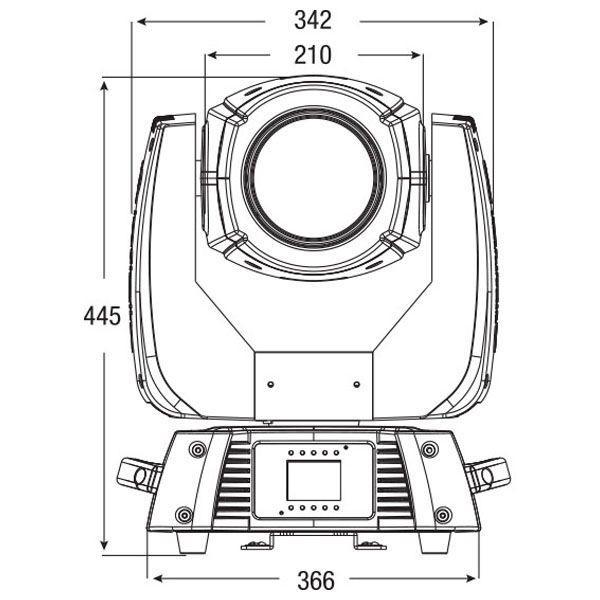 INFINITY - IB-2R comprensivo di lampadina Osram
