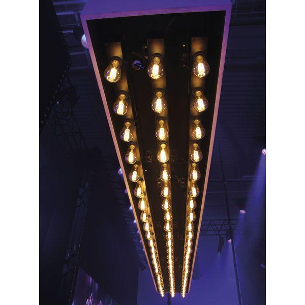 SHOWTEC EDISON BAR E6 Dimmer DMX E27
