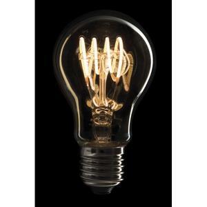 SHOWTEC - LED FILAMENT BULB E27 4W, Dimmerabile, Copertura in vetro dorato