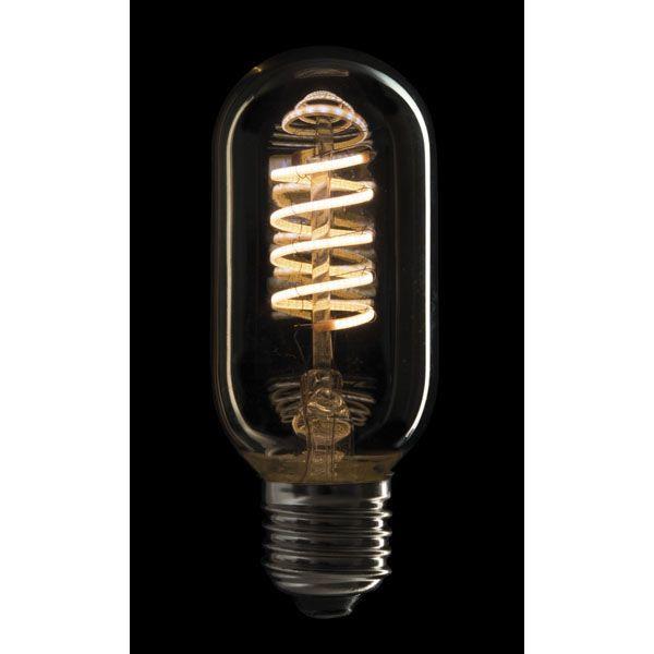 SHOWTEC - LED FILAMENT BULB E27 5W, Dimmerabile, Copertura in vetro dorato