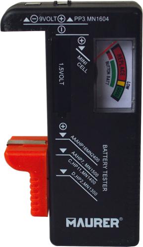 Tester per Batteria MAURER - verifica lo stato di carica delle batterie