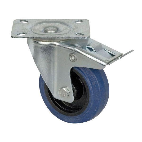 DAP BLUE WHEEL, 100 MM Rotante, con freno