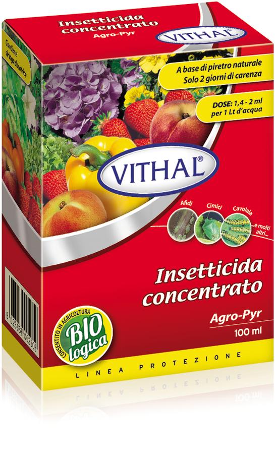 Insetticida Agropyr Disponibile nei Formati 20 - 100 ml