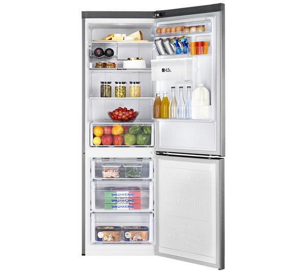 SAMSUNG frigorifero combinato 330lt A+ INOX Digital Inverter - No Frost RB31FDRNDSA