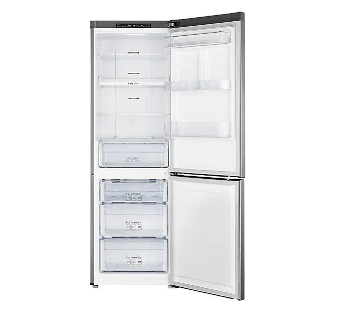 SAMSUNG frigorifero combinato 330lt A++ SILVER Digital Inverter - No Frost RB31HSR2DSA
