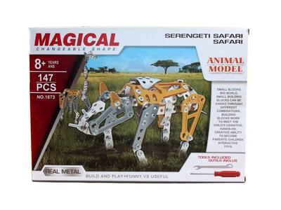 MAGICAL Metal Technics No 1873 Serengeti Safari 147 pezzi
