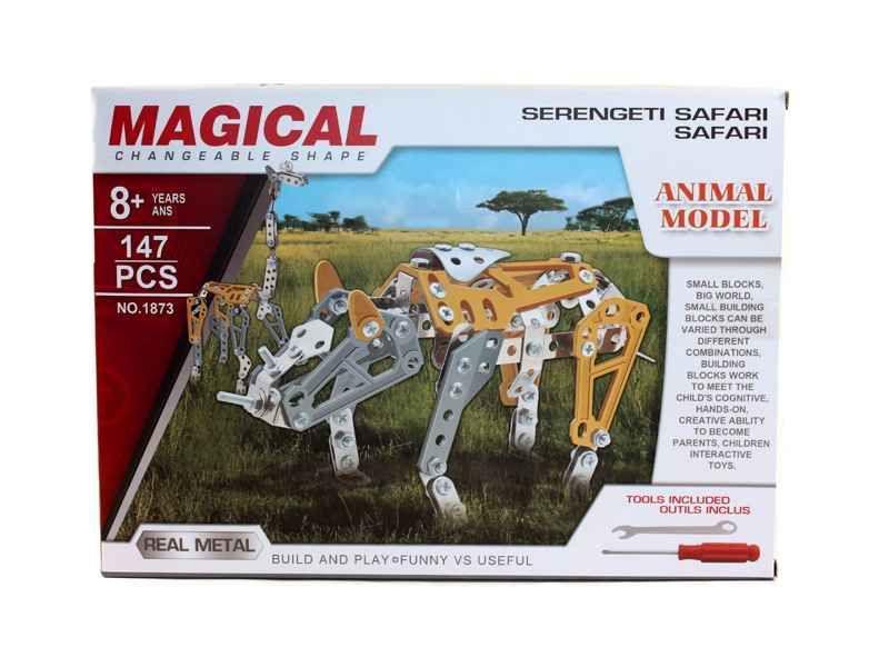 MAGICAL Metal Technics No 1873 Serengeti Safari 147 pezzi
