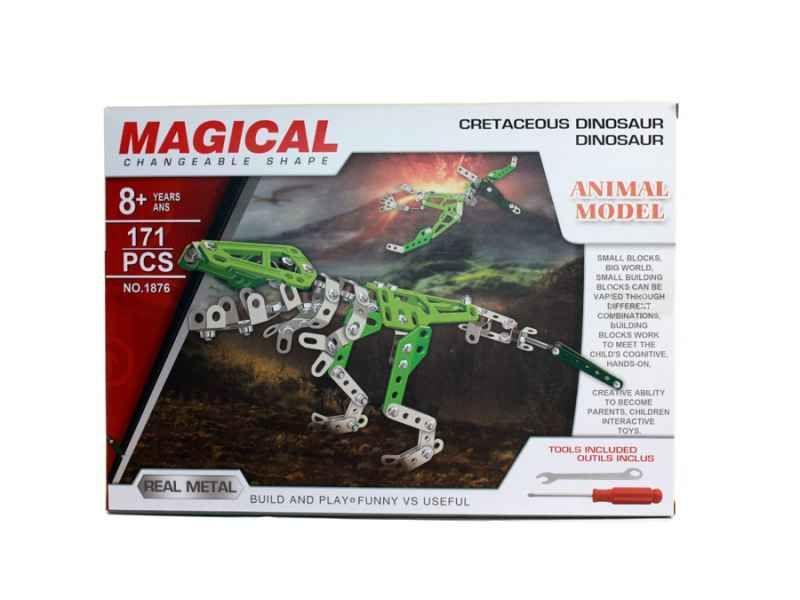 MAGICAL Metal Technics No.1876 Dinosauro 171 pezzi