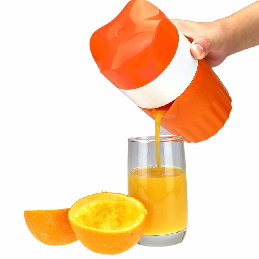 Manuale in PLASTICA SPREMITORE con Contenitore SPREMIAGRUMI Limoni Arance AGRUMI Cucina