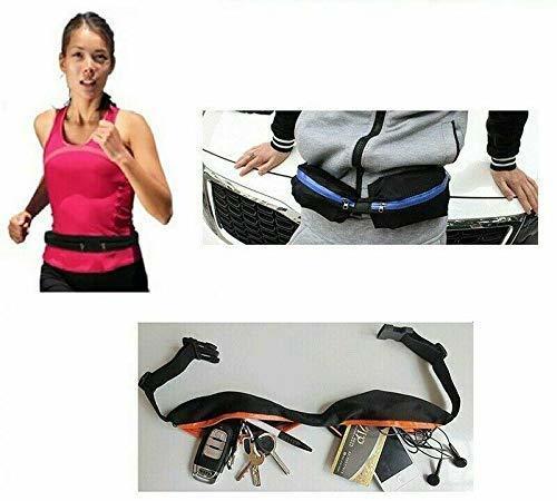 Marsupio Fitness Borsa Elastica per Smartphone Multifunzione Sport Cintura