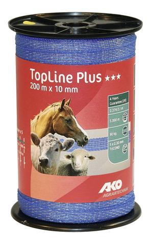 Nastro Conduttore TopLine Plus 200 m x 10 mm Blu