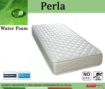 Materasso Espanso Mod. Perla Matrimoniale da Cm. 160x190/195/200 Water Foam No CFC - Ergorelax