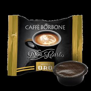 500 CAPSULE COMPATIBILI A MODO MIO CAFFE' BORBONE DON CARLO MISCELA ORO